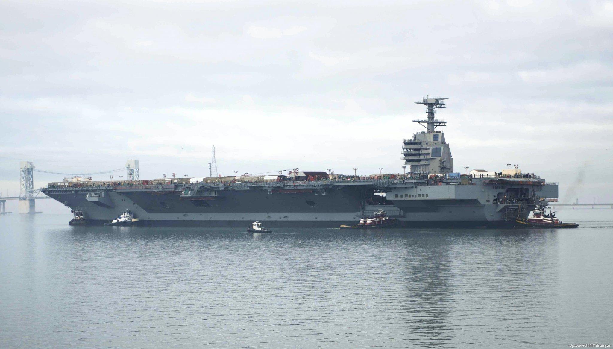 USS_Gerald_R__Ford_28CVN-7829_on_the_Jam