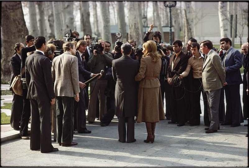 اخرین گفتگوهای شاه و فرح با خبرنگاران پیش از ترک کشور